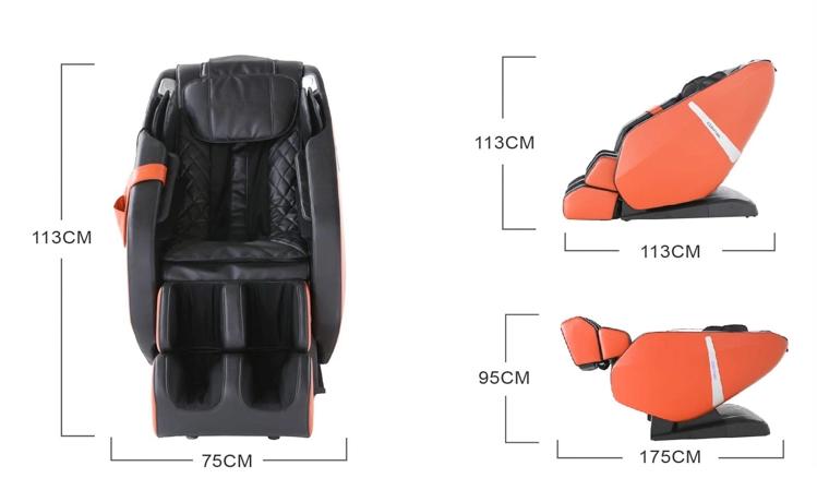 Dimensions du Fauteuil de massage Komoder Everest