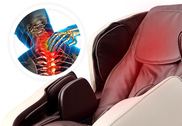 chauffage du dos pour le fauteuil de massage Komoder KM500L