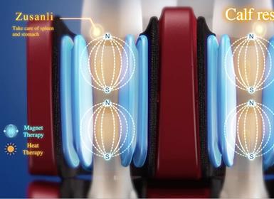 massage par pression pour les pieds sur fauteuil Komoder KM500L