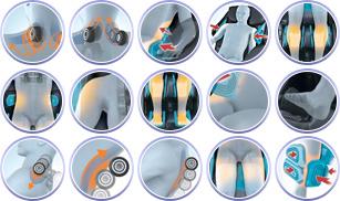 spécifications du fauteuil de massage Panasonic MA70