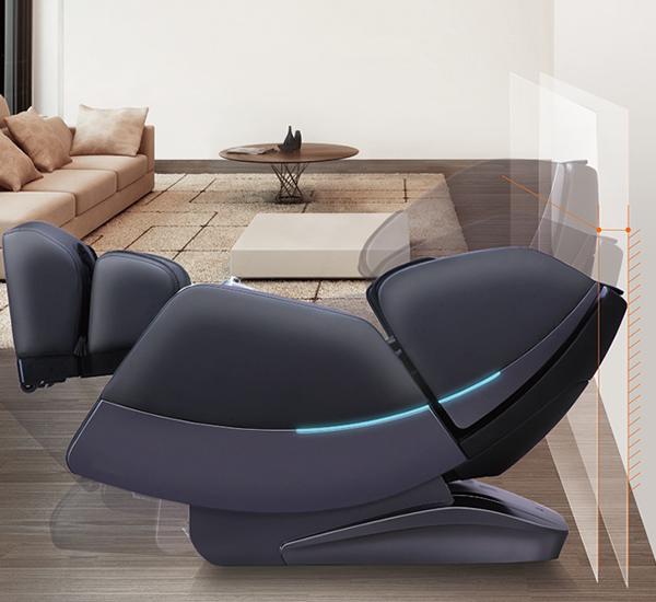espace réduit pour le fauteuil de massage Veleta